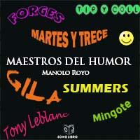 Audiolibro Maestros del humor